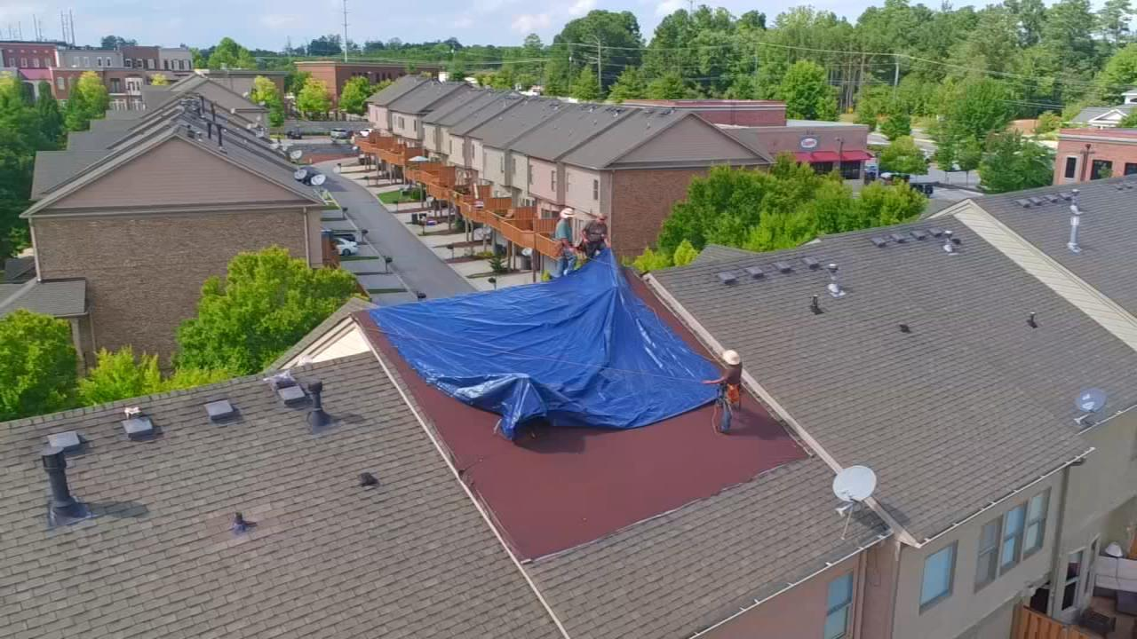 Read more about the article MULTI-FAMILY OR HOTEL ROOFS